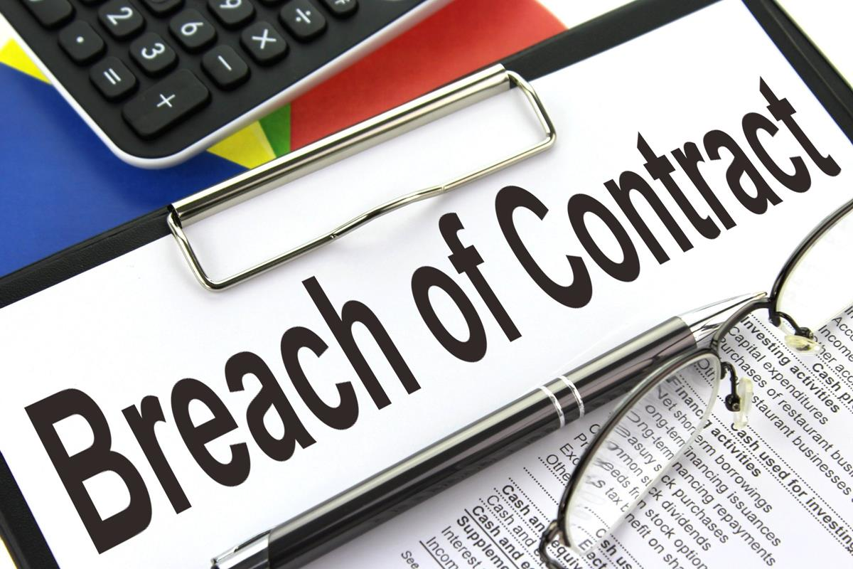 Breach of contract ii